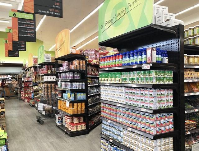 Sữa đặc, một trong những sản phẩm truyền thống thế mạnh của Vinamilk, đã có mặt tại các siêu thị ở Mỹ từ nhiều năm qua