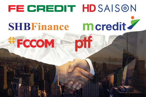 Ngân hàng mẹ đang bơm bao nhiêu vốn cho FE Credit, HD Saison, Mcredit,...? - Ảnh 1