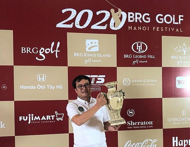 Golfer Nguyễn Tiến Sỹ - Nhà vô địch BRG Golf Hanoi Festival 2020