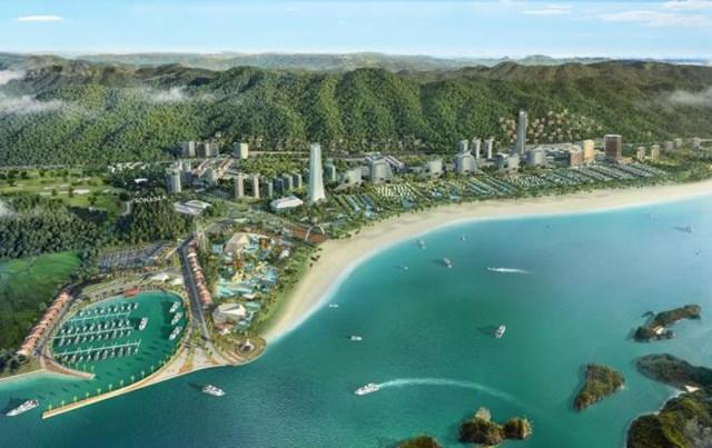 Sonasea Vân Đồn Harbor City là một trong những dự án trọng điểm của CEO Group năm 2020.