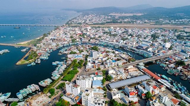 Phú Quốc sẽ trở thành thành phố đảo đầu tiên của Việt Nam kể từ ngày 1/3/2021.(Ảnh: kiengiang.gov.vn).