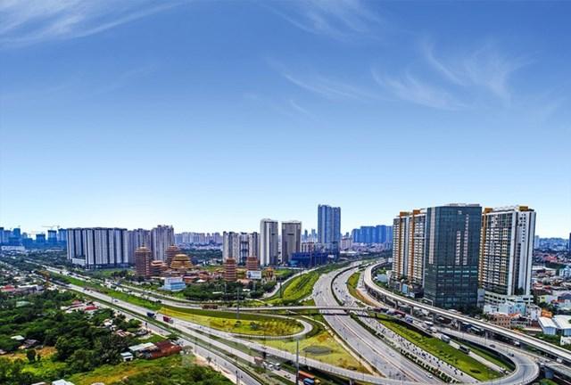Giao lộ ngã ba Cát Lái thuộc thành phố Thủ Đức. Ảnh: Tiền Phong.