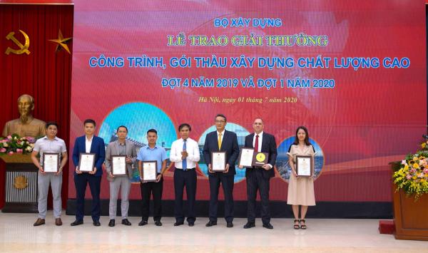 Movenpick Resort Cam Ranh và Radisson Blu Resort Cam Ranh nhận giải thưởng Công trình chất lượng cao - Ảnh 3