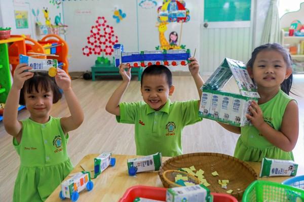 Sữa học đường TPHCM chương trình nhân văn đem lại nhiều niềm vui cho con trẻ - Ảnh 4