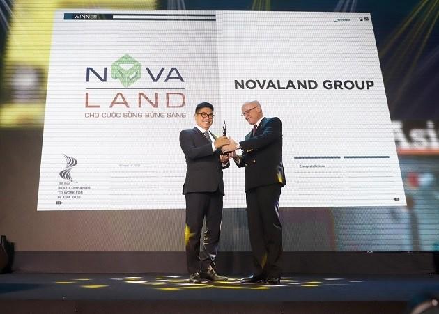 Novaland được vinh danh tại giải thưởng những nơi làm việc tốt nhất Châu Á năm 2020 - Ảnh 1