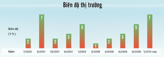 """Những """"cơn sóng"""" lớn của chứng khoán Việt Nam - Ảnh 5"""