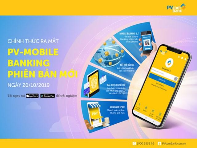PVcomBank chính thức ra mắt phiên bản mới của ứng dụng PV-Mobile Banking - Ảnh 2