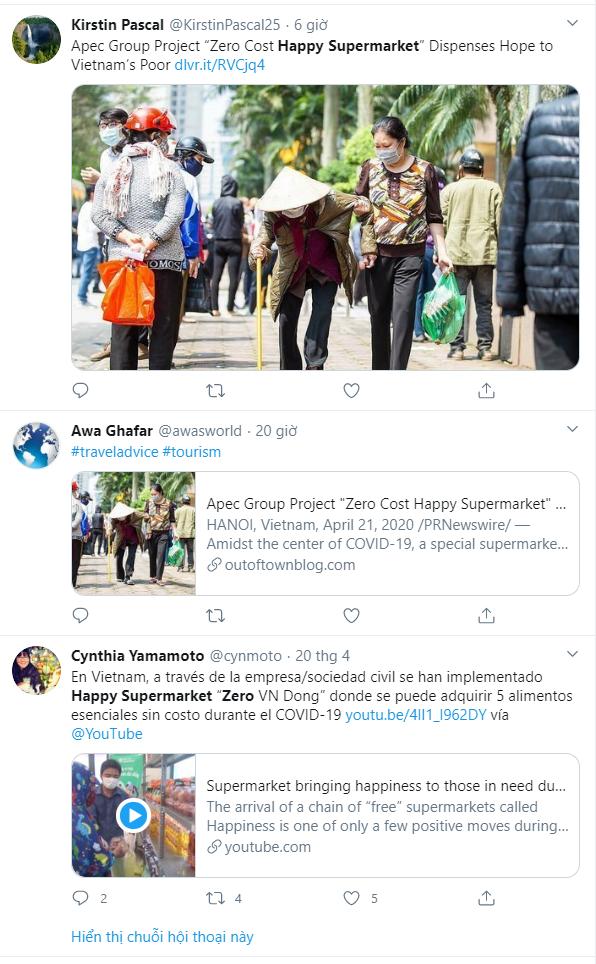 Siêu thị Hạnh phúc 0đ: Thêm 1 ý tưởng thuần Việt được lòng cộng đồng quốc tế - Ảnh 2