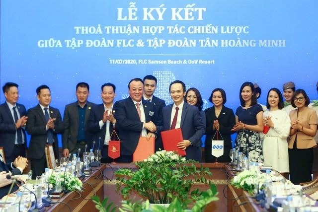 Tập đoàn FLC và Tân Hoàng Minh ký kết hợp tác chiến lược - Ảnh 1