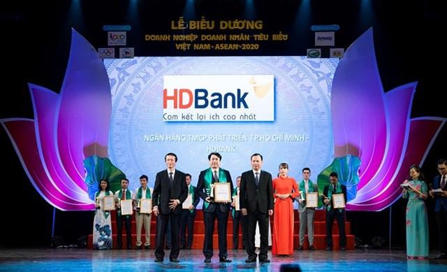 HDBank - Doanh nghiệp tiêu biểu Việt Nam - ASEAN 2020 - Ảnh 1