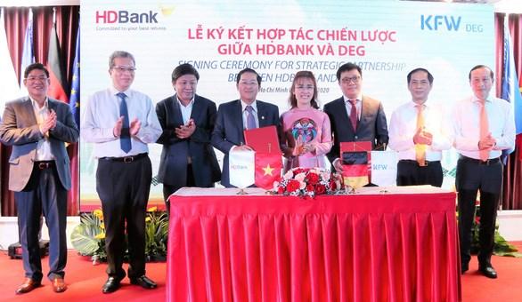 HDBank phát hành trái phiếu chuyển đổi cho đối tác chiến lược DEG của Đức - Ảnh 1