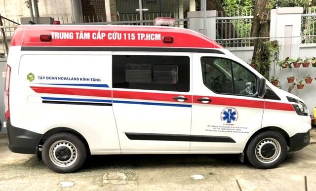 Trung tâm cấp cứu 115 TPHCM tiếp nhận xe cấp cứu hiện đại từ Tập đoàn Novaland  - Ảnh 2