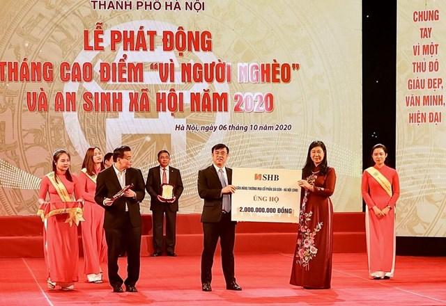 """""""Bầu Hiển"""" ủng hộ 5 tỷ đồng cho quỹ Vì người nghèo Thành phố Hà Nội - Ảnh 2"""