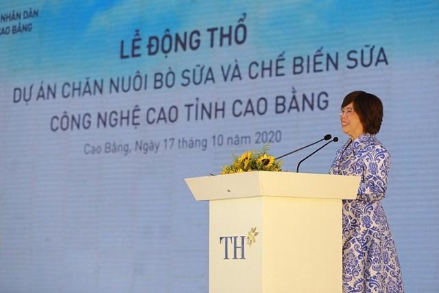 Động thổ dự án chăn nuôi bò sữa và chế biến sữa công nghệ cao tại vùng biên giới Cao Bằng - Ảnh 2