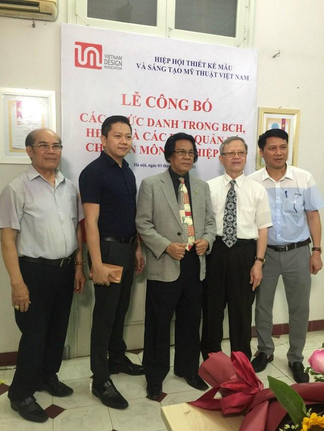 Hiệp hội Thiết kế mẫu và Sáng tạo mỹ thuật Việt Nam công bố các chức danh của Hiệp hội nhiệm kỳ 2018-2023 - Ảnh 4
