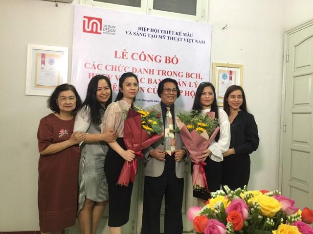 Hiệp hội Thiết kế mẫu và Sáng tạo mỹ thuật Việt Nam công bố các chức danh của Hiệp hội nhiệm kỳ 2018-2023 - Ảnh 3