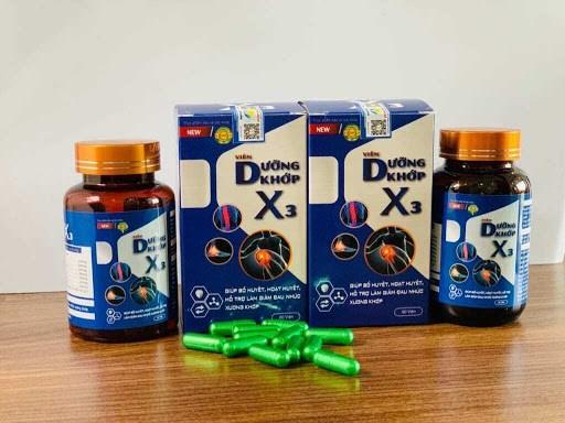 Bộ Y tế khuyến cáo người tiêu dùng không nên sử dụng sản phẩm Thực phẩm bảo vệ sức khỏe Viên Dưỡng Khớp X3 do vi phạm quảng cáo.