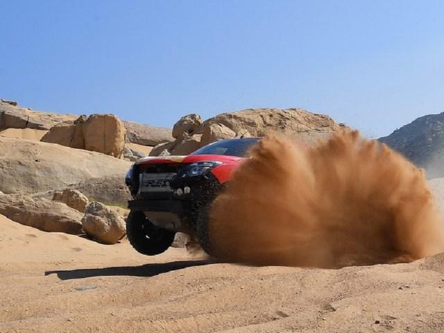 Giải đua xe thể thao địa hình Mũi Dinh Challenge tại đồi cát Mũi Dinh với những tình huống xử lý ngoạn mục của các tay đua.