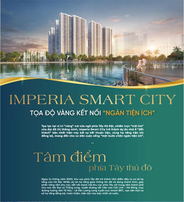 Imperia Smart City - Tọa độ vàng kết nối 'ngàn tiện ích' - Ảnh 1