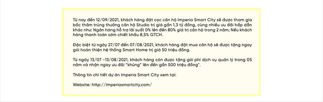 Imperia Smart City - Tọa độ vàng kết nối 'ngàn tiện ích' - Ảnh 9