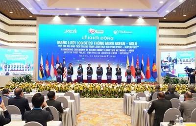 """Thủ tướng khởi động Mạng lưới Logistics thông minh ASEAN với dự án đầu tiên """"Trung tâm Logistics ICD Vĩnh Phúc"""""""
