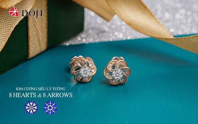 Trang sức kim cương 8 Hearts & 8 Arrows của DOJI là tác phẩm vượt qua định nghĩa của phụ kiện trang sức thông thường.