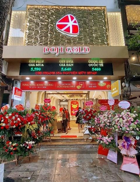 Trung tâm DOJI Gold cóvị trí đắc địa nằm giữa trung tâm Phố Cổ Hà Nộị